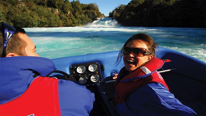 Huka Falls Jetboating Taupo